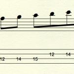 【スケール練習】2オクターブを広いレンジで効率良く弾いてみよう!