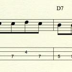 ブルースのコード進行に合わせてベースラインを弾いてみよう