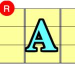 【コード一覧表】ルートがA(ラ)の構成音を覚えよう