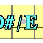 【コード一覧表】ルートがD#(レ)&E♭(ミ)の構成音を覚えよう