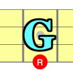 【コード一覧表】ルートがG(ソ)の構成音はこうなる!